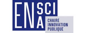 Logo Chaire innovation publique ENA ENSCI